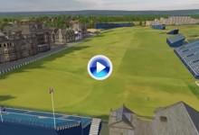 Conozca a vista de pájaro el Old Course de St. Andrews, sede del Open (VÍDEO)