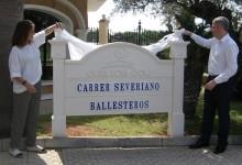 Oliva Nova homenajea al gran Seve Ballesteros con la inauguración de una calle con su nombre