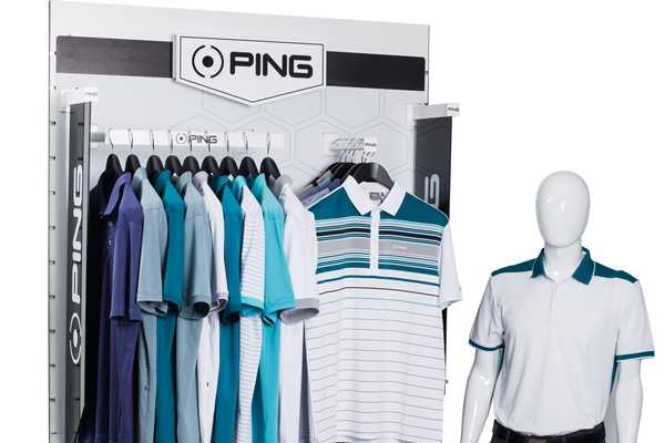 PING Apparel Mens Blue print unit