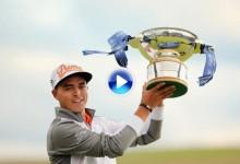 Scottish Open: Rickie Fowler campeón en Escocia. Jiménez, otro Top 10  (VÍDEOS con los golpes del día)