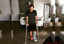 Rory McIlroy dice adiós al The Open, se rompió un ligamento jugando al fútbol