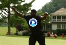 Shaq Attack: O'Neal vence a Bradley en un concurso improvisado de tiros libres con bolas de golf
