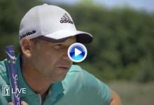 Sergio García, protagonista del nuevo anuncio del PGA Tour. «No juzguen mi canto por favor» (VÍDEO)
