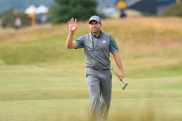 Sergio Garcia durante la tercera ronda del Open Foto @A3Noticias