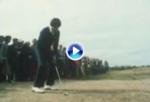 Seve ganó su primer The Open en 1979. Su famoso golpe desde el parking fue clave para ello (VÍDEO)