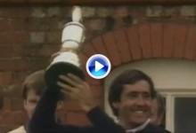El genio de Pedreña conquistó su tercer Open en 1988 con la ronda más grande de su carrera (VÍDEO)