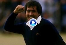 El puño de Seve en el 18 de St. Andrews por su segundo The Open dio la vuelta al mundo (VÍDEO)