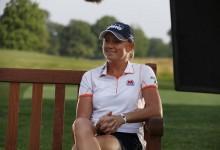 Stacy Lewis recupera sus palos perdidos a pocas horas de iniciar la andadura en el Women's British