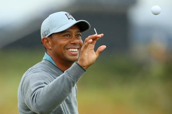 Tiger Woods Foto @TheOpen