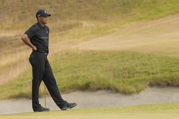Tiger Woods en el pasado US Open Foto @usopengolf