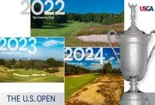 Brookline, Los Ángeles y Pinehurst, sedes de las ediciones 2022, 2023 y 2024 del US Open