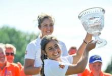 La andaluza Ana Peláez logra el primer triunfo español en el Annika Invitational. María Parra, 2ª