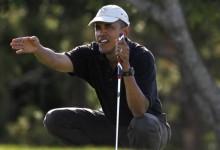 """Obama, engañado durante un partido de golf: """"Se compincharon para sacarme dinero… Y lo lograron"""""""
