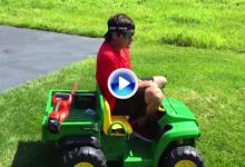 Así se preparó Bubba Watson para el US PGA Championship. ¡No tiene desperdicio! (VÍDEO)