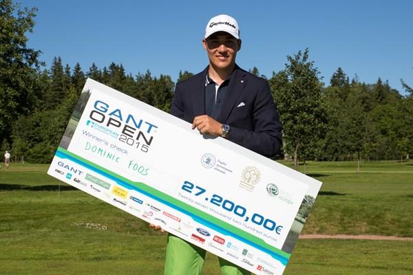 Dominic Foos campeón en el Gant Open. Foto: Juha Hakulinen