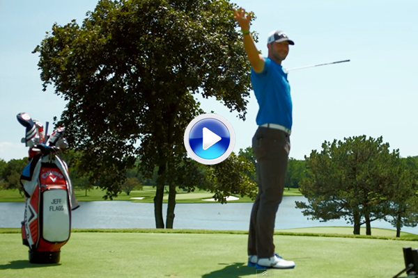 Jeff Flagg lo vuelve a hacer. Muestra su increíble pegada con un tiro a green desde ¡393 mts! (VÍDEO)