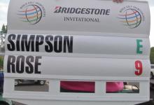 Justin Rose da caza a Jim Furyk en el Bridgestone Invitational. 63 golpes sin errores tuvieron la culpa