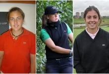 El golf español deslumbra en el British Girls. María Parra, Marta Pérez y Ana Peláez, en semifinales