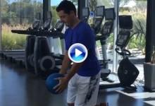 Rory McIlroy, a pleno rendimiento en su rehabilitación. ¿PGA Champ. a la vista? (VÍDEO)