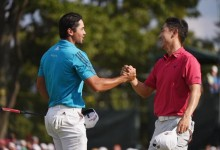 Jason Day y Sangmoon Bae desbancan a Bubba Watson de lo más alto de la tabla en The Barclays