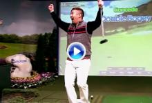 ¡A lo Jordan Spieth! El Screen Golf, es el nuevo deporte de moda en Corea del Sur (VÍDEO)