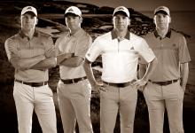 Adidas presentó la ropa con la que vestirá Sergio García durante el US PGA