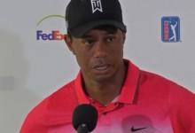 Tiger pide paciencia con su puesta a punto y asegura que seguirá ganando torneos en el futuro