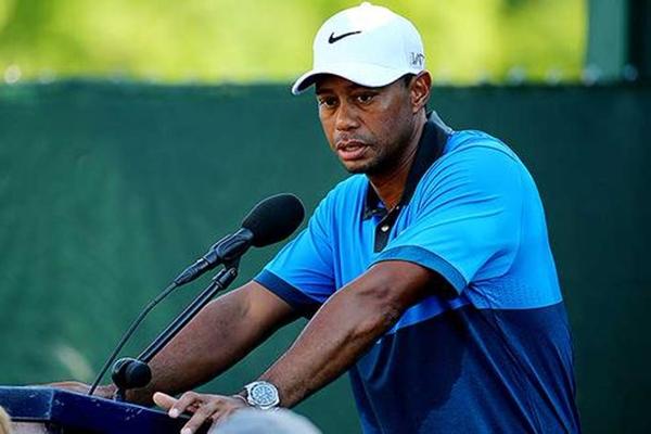 Tiger Woods en Whistling Straits Foto @PGATOUR