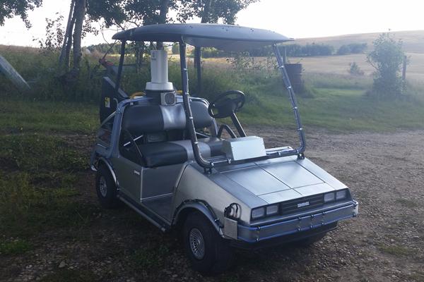 Buggy DeLorean 2