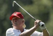 Donald Trump cierra el año con 67 rondas de Golf jugadas, aventajando a Obama pero lejos de Wilson