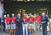 Castiello, campeón de España en el Interclubes Masc. tras superar a El Prat, en una intensa final