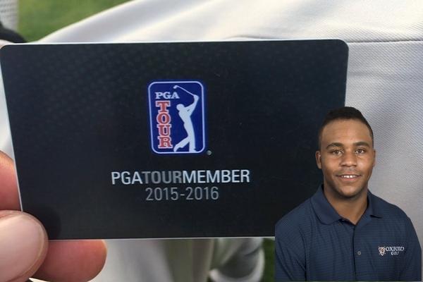 Harold Varner III es el primer afroamericano en lograr la tarjeta del PGA Tour a través del Web.com