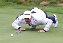 Colomo se despide de su debut en el PGA rozando la hazaña en un nuevo día pasado por agua