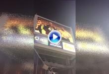 Jon Rahm-bo recibió en «El Infierno» un emotivo homenaje ante más de 10.000 personas (VÍDEO)