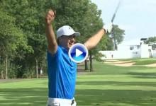 Los mejores golpes del año en el PGA Tour (nº8): Spieth firma un Hoyo en Uno en el BMW (VÍDEO)
