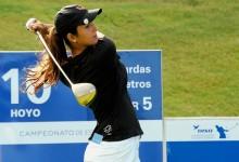 Paso al frente de Leticia Ras-Anderica en el DISA Campeonato de España de Profesionales Femenino
