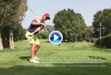 Tip sobre extensión anticipada ¿Cómo evitar una perdida de los ángulos durante el swing? (VÍDEO)