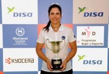 Natalia Escuriola consigue el triunfo en Abama Golf tras acceder al estatus profesional unos días antes