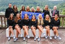 EE.UU. aventaja 5-4 a Europa en la Ping Junior Solheim Cup en una primera jornada inacabada