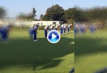 El equipo americano de la Walker Cup se divierte con un Trick Shot a pocas horas de su debut (VÍDEO)