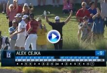 Este gran Hoyo en Uno de Alex Cejka en Las Vegas lo mete de lleno en la lucha por el título (VÍDEO)