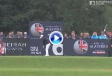 British Masters (Inglaterra): Resumen de los golpes destacados en su tercera jornada (VÍDEO)