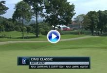 CIMB Classic (Kuala Lumpur): Resumen de los golpes destacados en su primera jornada (VÍDEO)