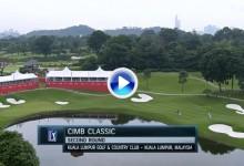 CIMB Classic (Kuala Lumpur): Resumen de los golpes destacados en su segunda jornada (VÍDEO)