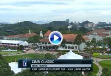 CIMB Classic (Kuala Lumpur): Resumen de los golpes destacados en su tercera jornada (VÍDEO)