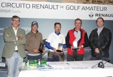 Victoria de los locales y resultado histórico para el ganador en el Circuito Renault Amateur en Ávila