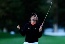 Llegar y besar el santo: Grillo vino, vio y venció en el Frys.com en su primer torneo en el PGA Tour