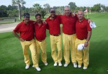 España se sube al podio en el Camp. de Europa de Golf Adaptado y se impone en la Copa de Naciones