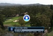 Frys.com Open (California): Resumen de los golpes destacados en su primera jornada (VÍDEO)