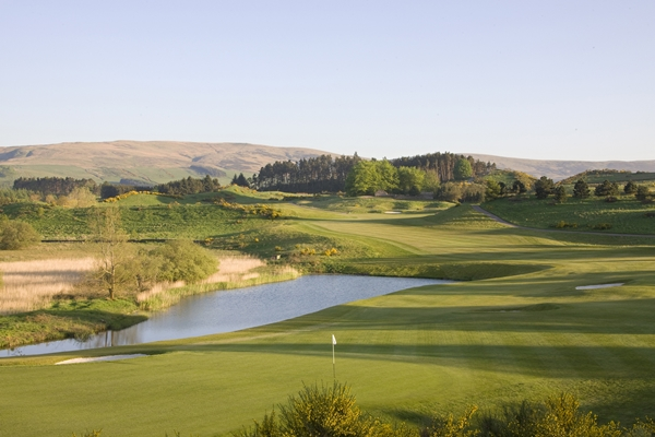 Gleneagles PGA Centenary 9th